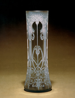 Corn Cockle - glass vase